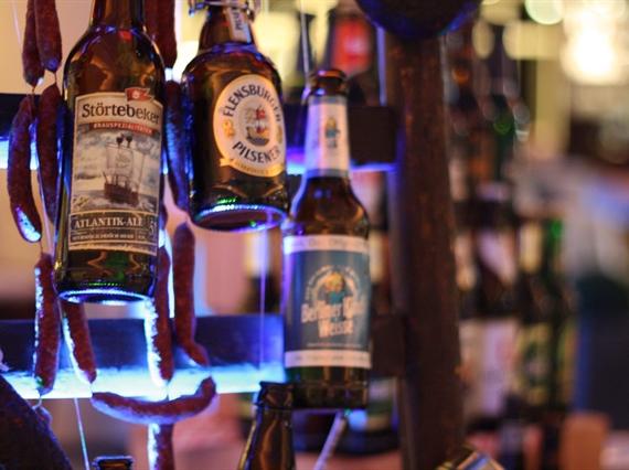 Different beer bottles